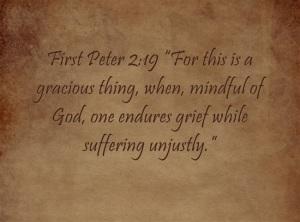 Suffering for Jesus 2 Peter 2~19
