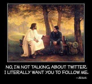 Following Jesus More than Twitter
