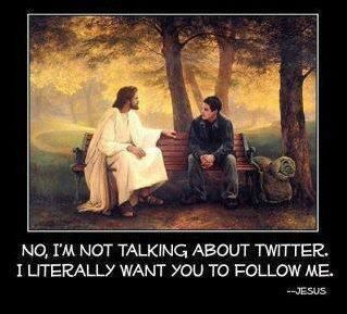 Following Jesus More than Twitter