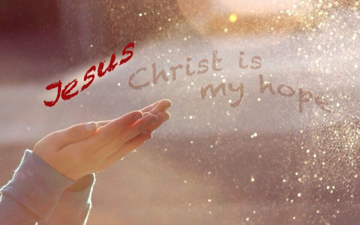 Jesus Christ is my Hope copy