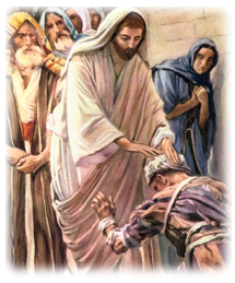 Jesus Heals the Man with Leprosy